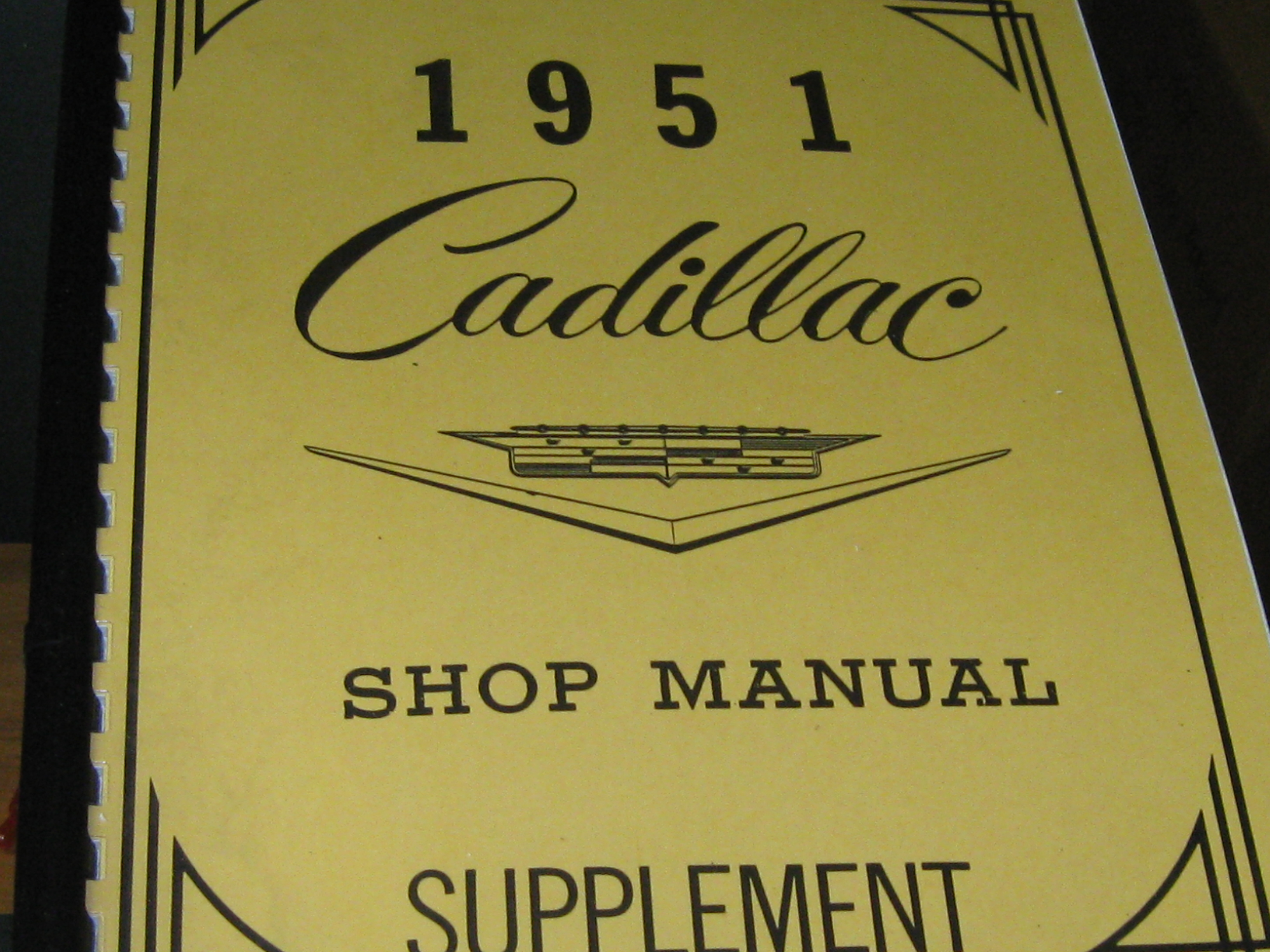then and now automotive 1951 cadillac shop manual then 1954 cadillac shop manual cadillac shop manual 1961 page 15-110