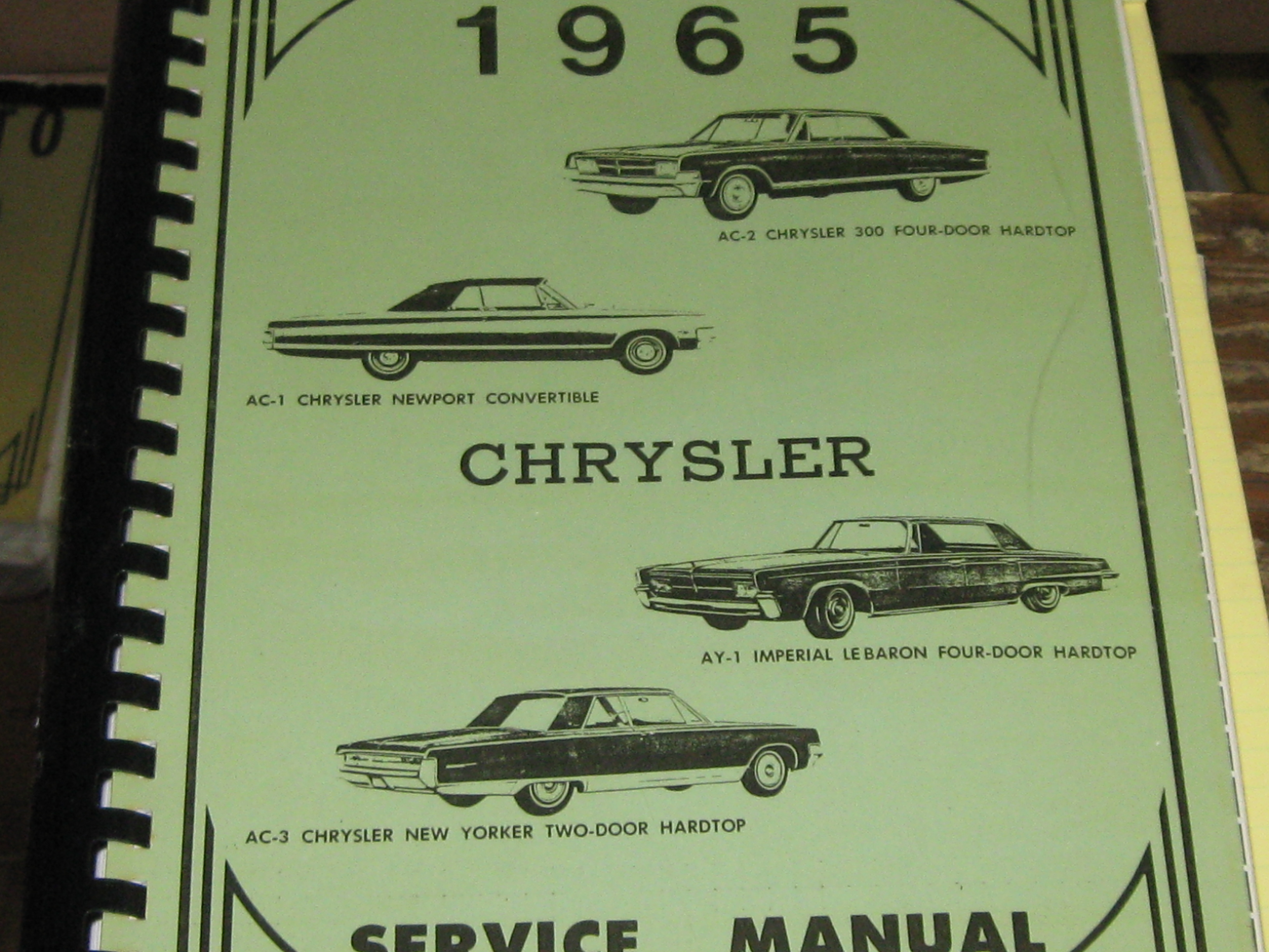 then and now automotive 1965 chrysler shop manual then and now rh then now auto com chrysler shop manuals pdf chrysler 300 shop manual