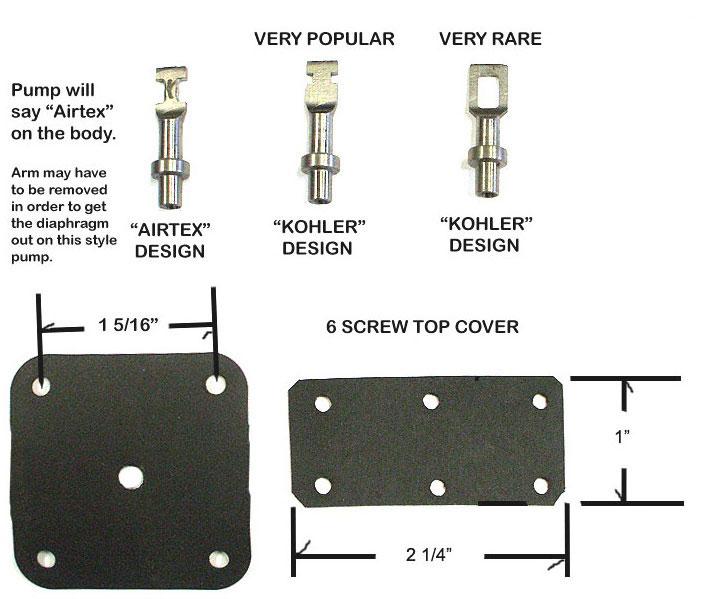 Fuel Pump Diaphragm Material : Then and now automotive ac s kohler fuel pump kit
