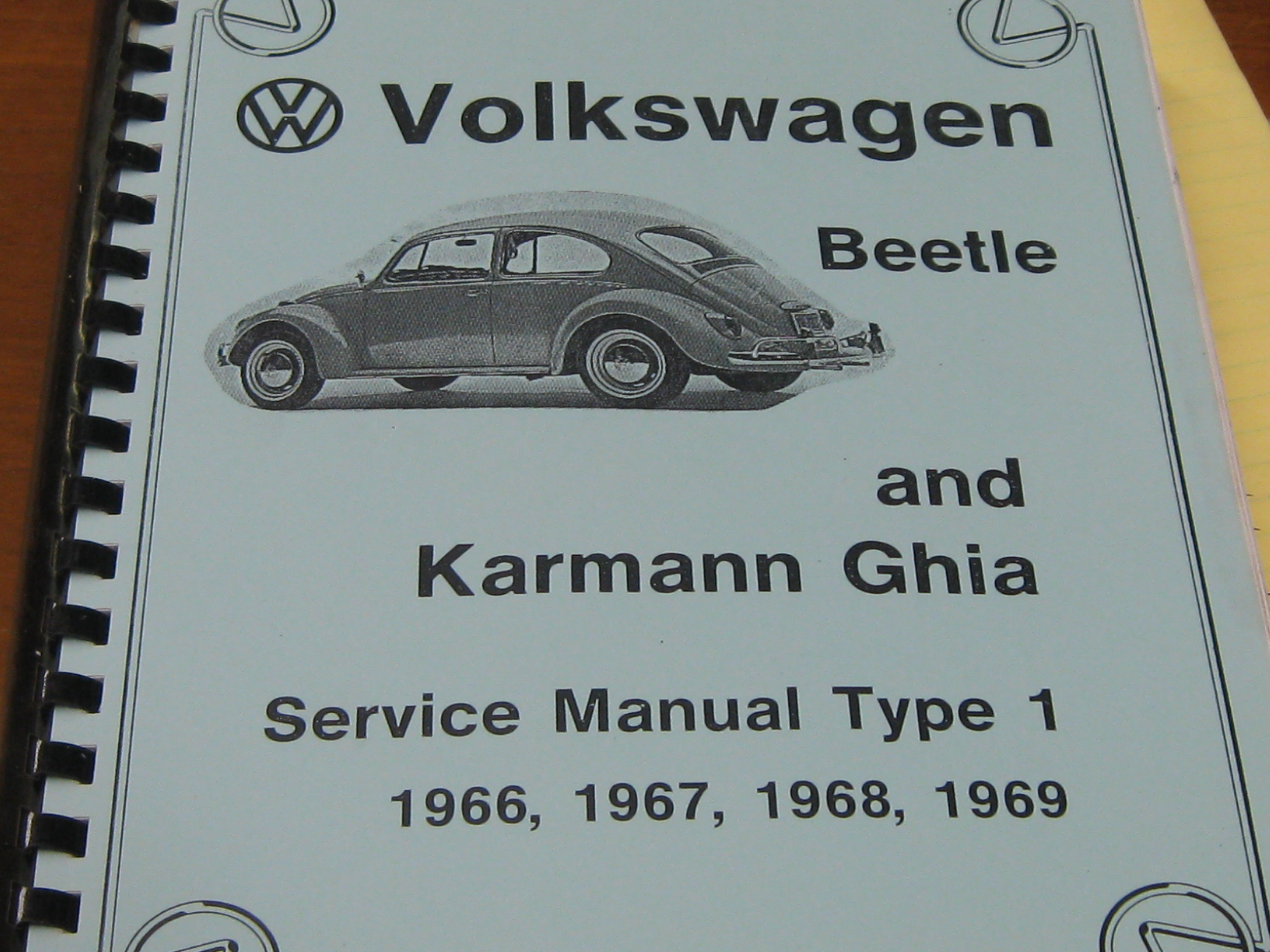 then and now automotive 1966 1969 volkswagen beetle and karmann ghia rh then now auto com VW Routan Service Manuals 1968 VW Transporter