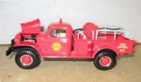 Shell Dodge Power Wagon Brush Unit