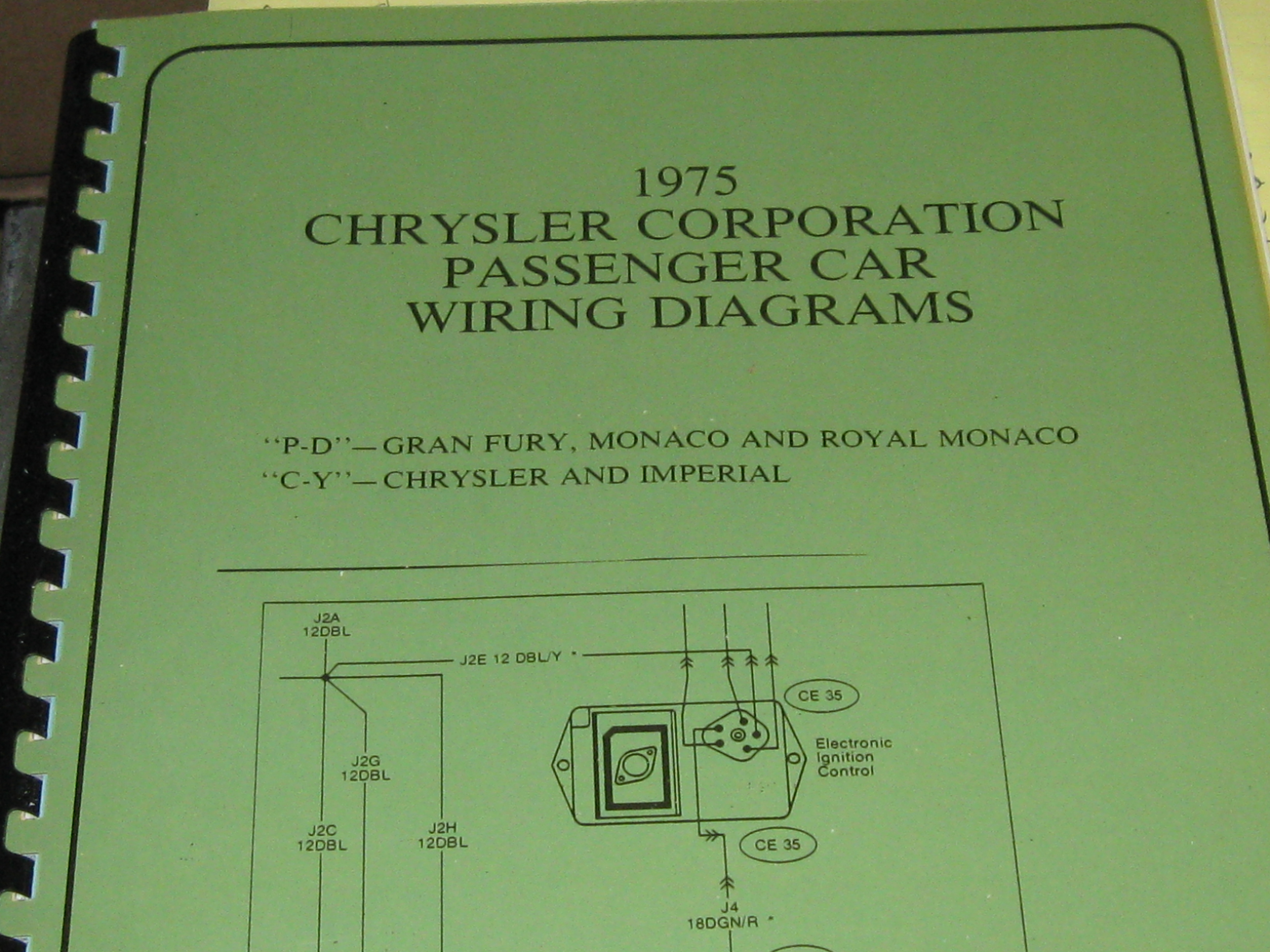 1975 Chrysler Imperial Wiring Electrical Diagrams 1990 Diagram Then And Now Automotive Plymouth 69