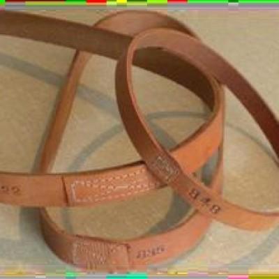 Flat Leather Fan Belts